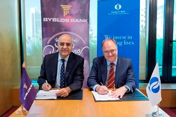 Byblos Bank And The European Bank For Reconstruction And Development Sign A USD 75 Million Agreement