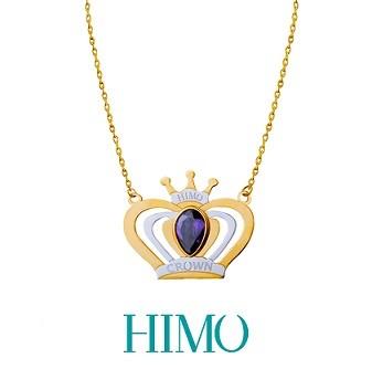 Princess Crown Necklace PRCRNC17PR(V)